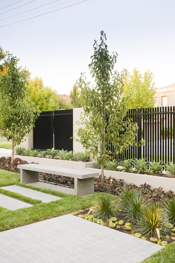 COS Design is a Melbourne firm specializing in interior and exterior designs; they blend classic and modern seamlessly in this site at Radnor Street.