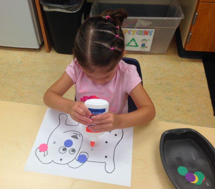 Preschool Wonders: August 2014. Dog's colorful day.
