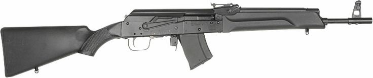 Saiga 7.62x39 Semi-Auto. Yes, I have one. No, you can't shoot it.  Well, maybe....