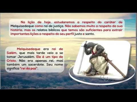 Melquisedeque, o Rei de Justiça – AD Criciúma - EBDWeb