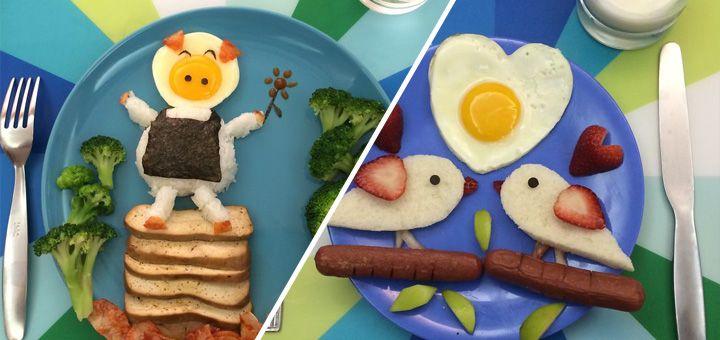 Matka čtyř dětí jim připravuje umělecké a nezapomenutelné snídaně