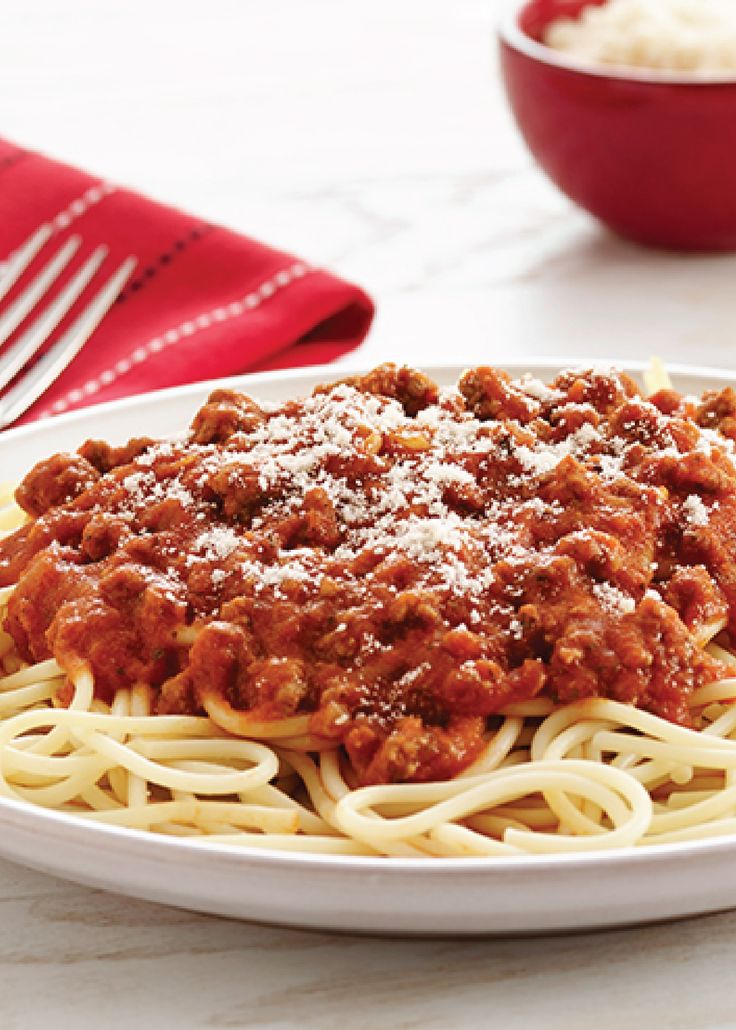 182 best italian recipes images on pinterest cooking recipes make an italian dinner classic with this easy spaghetti and meat sauce recipe forumfinder