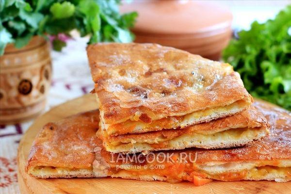 Осетинский пирог с тыквой (Насджин)