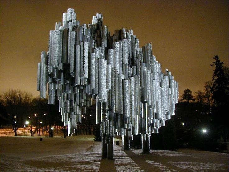 Sibelius Monument by Eila Hiltunen