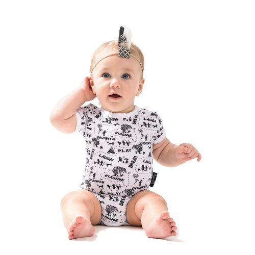 Oak MONO MAP Organic Onesie. Our MONO MAP collection is a monochrome kids clothing range with a cute map print Inspired by the magic of childhood. asterandoak.com.au