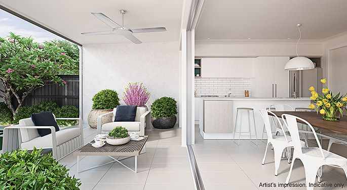 Indoor and outdoor living spaces.   The coastal location provided the perfect blank page for Arkee Interior Designers to source inspiration and reflect a modern innovative Australian design.   See more Arkee Creative work at www.arkee.com.au we love the blank page.