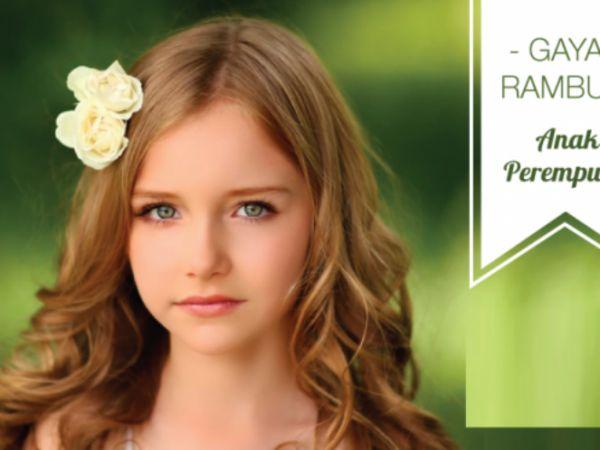 Gaya Rambut Populer untuk Anak Perempuan