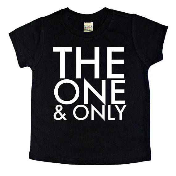 The One & Only shirt, cool kids clothes, street style, kids graphic tee, www.BGatsby.com