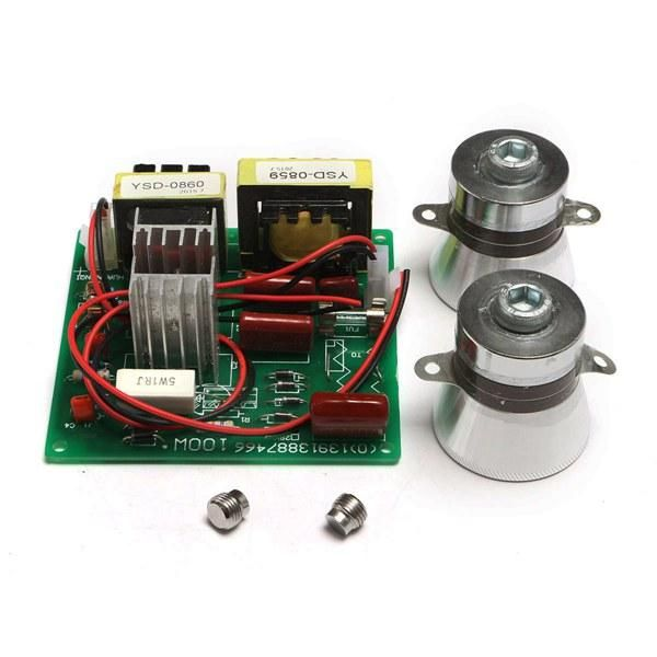 Ac 110v 100w 40k Ultrasonic Cleaner Power Driver Board+1pcs 60w 40k Transdu P8C3
