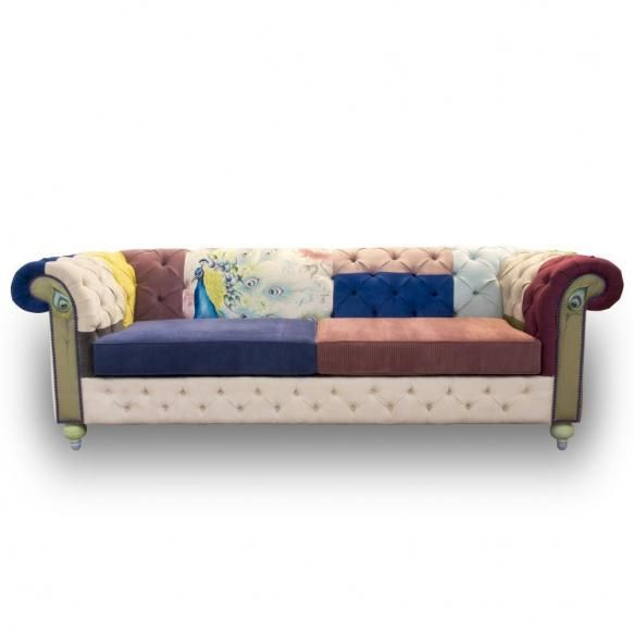 Canapea cu tapiterie pictata...