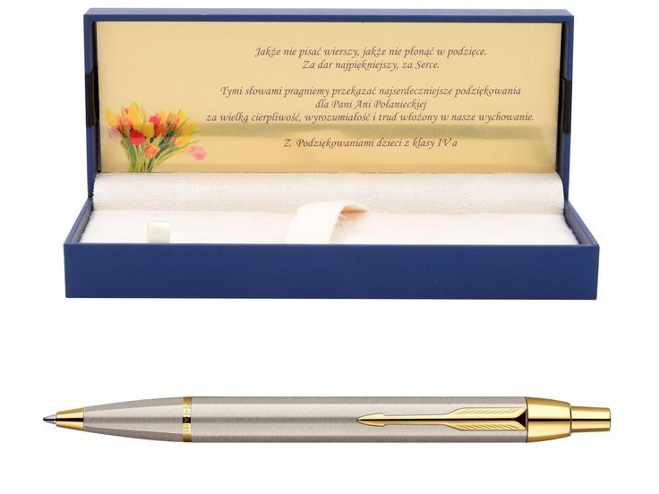 Długopis Parker IM Brushed Zakończenie Roku GRAWER