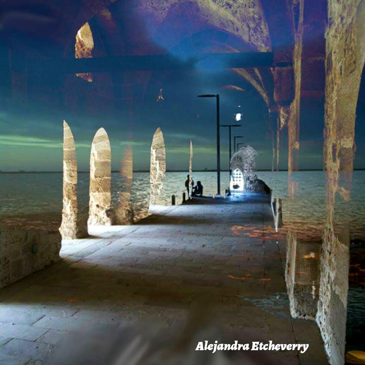 Portales - Fotografía de doble exposición - San Luis, Argentina - Autora: Alejandra Etcheverry