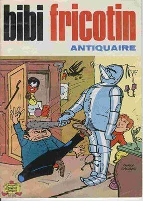 Bibi Fricotin est une série de bande dessinée populaire créée en 1924 par le dessinateur français Louis Forton, le créateur de la BD Les Pieds Nickelés.Bibi Fricotin est un personnage de jeune garçon facétieux et redresseur de torts dont la popularité s'étendit en France sur plusieurs dizaines d'années.