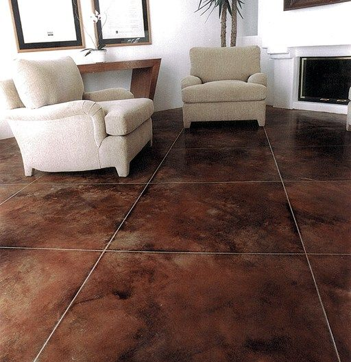 76 Best Acid Stained Concrete Floor Images On Pinterest