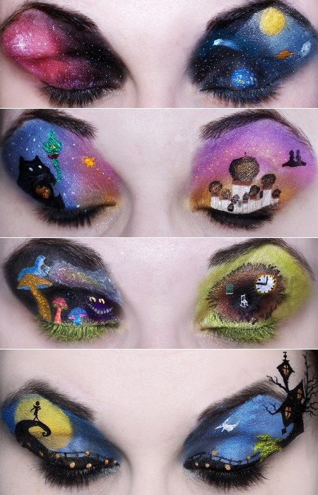 hot new makeup for halloween - Eyeshadow For Halloween