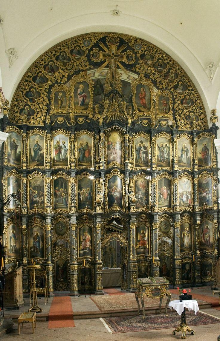 Eger, Szent Miklós Görögkeleti Szerb Templom (Rác-templom) - ikonosztáz
