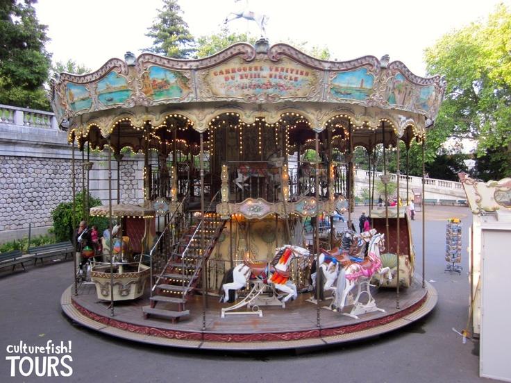Parisian carousel