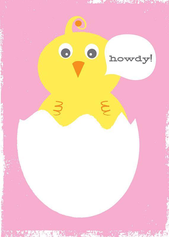 Nuevo bebé Girl tarjeta de felicitación papelería  Hola
