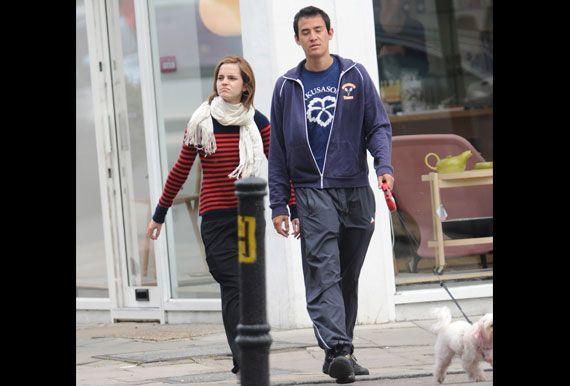 Do you think Emma Watson and boyfriend Will Adamowicz make a cute couple?