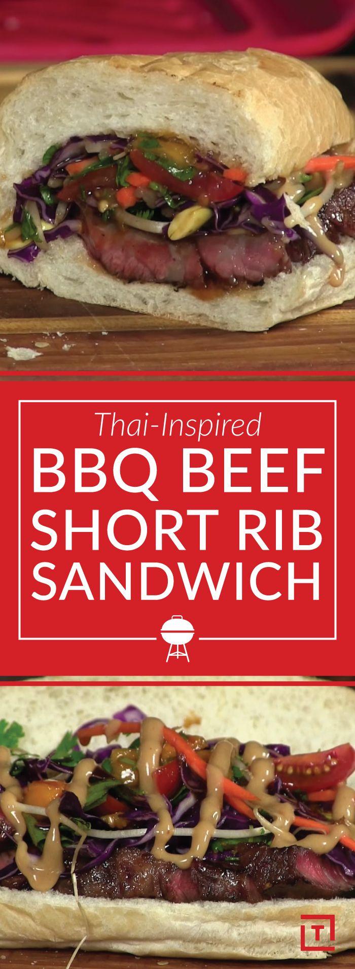 tender grilled short ribs recipe dishmaps grilled short ribs short rib ...