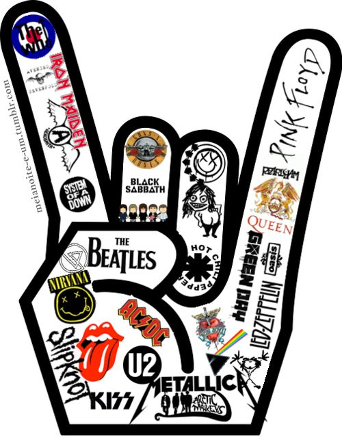 What are some differences and similarities between Classic rock and punk?