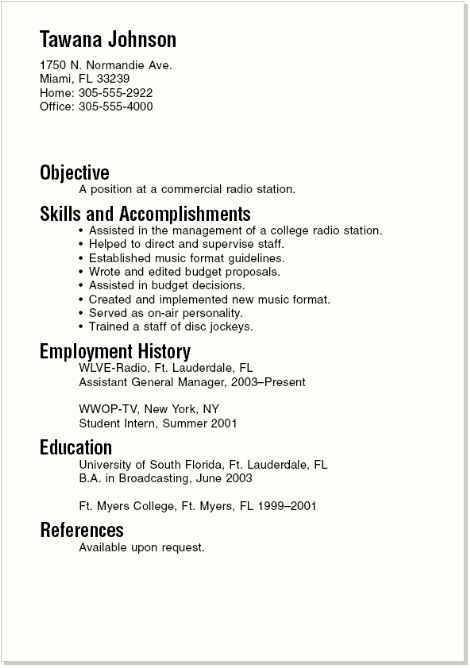 sample resumes for college student and graduate are examples we provide as reference to make correct and good quality resume