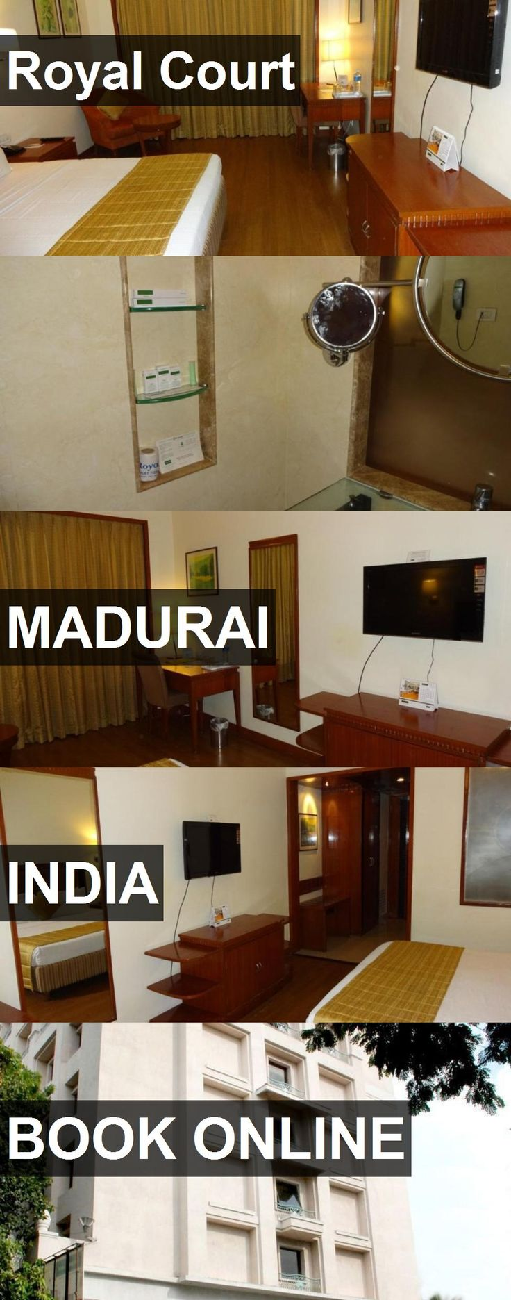 Hotel Royal Court in Madurai, India. For more information, photos, reviews and best prices please follow the link. #India #Madurai #travel #vacation #hotel