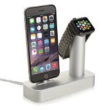 Niutop Apple Watch Stand & Iphone Stand, Premium [2 in 1]