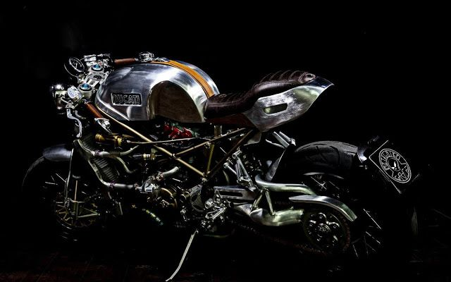 DUCATI MONSTER S4R INFINITA - RocketGarage - Cafe Racer Magazine