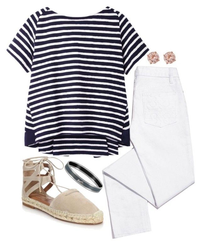 """""""Untitled #212"""" by hbcernuto ❤ liked on Polyvore featuring Tory Burch, Sacai Luck, Aquazzura and D'Yach"""