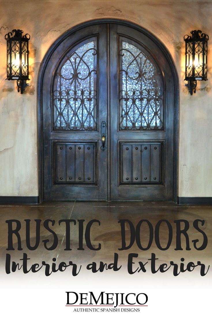 Shop Authentic, Hand-Crafted, Spanish Style, Rustic Interior, Exterior, and Accent Doors & Gates.
