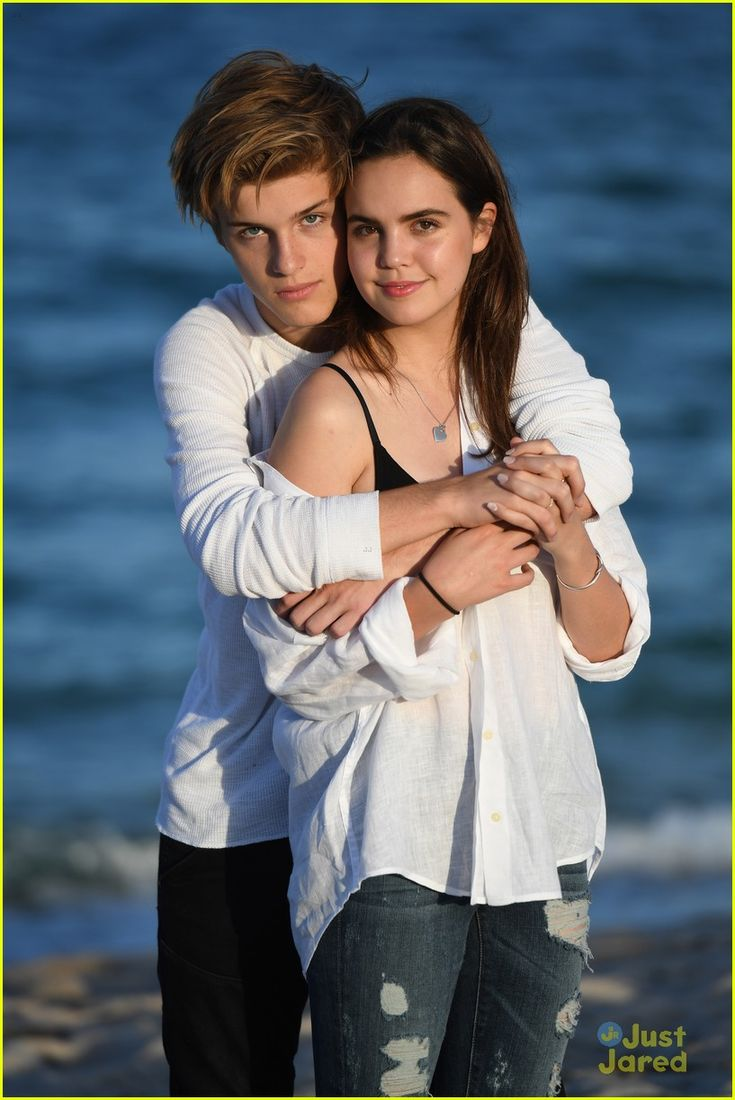 bailee madison alex lange joey pacey vibe beach shoot 01