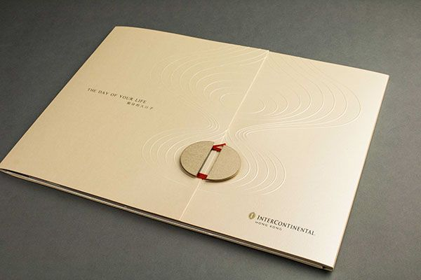 InterContinental HK Wedding Brochure