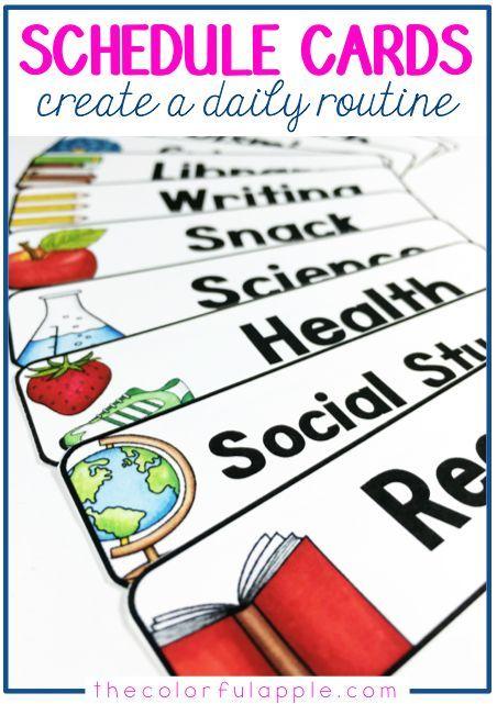 90 best Classroom Schedule images on Pinterest Classroom decor - classroom agenda template