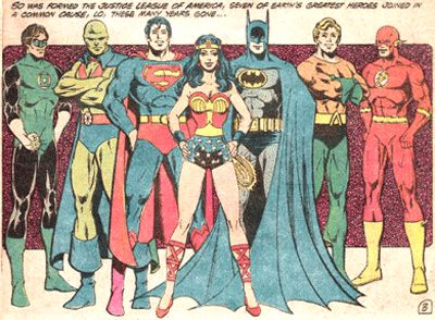 The ORIGINAL Justice League of America