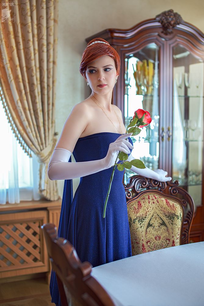 """Last Duchess by Rei-Doll.deviantart.com on @deviantART - Cosplay of Anastasia from 20th Century Fox's """"Anastasia"""" - This is one of my favourite cosplay photos for this character so far."""