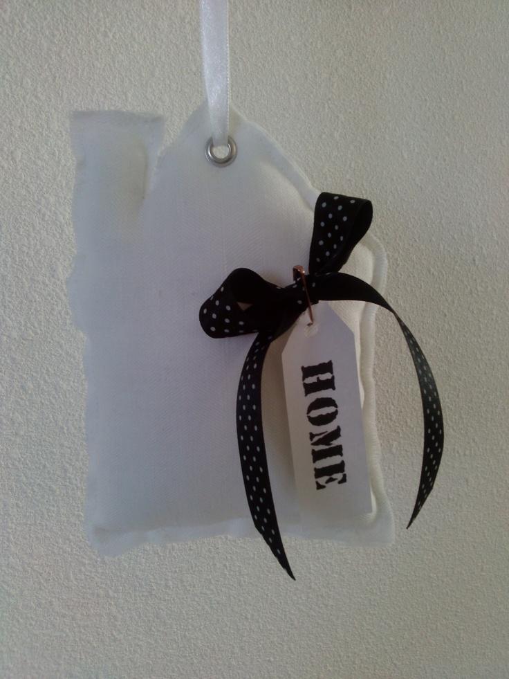 Decoratie huisje met Home label