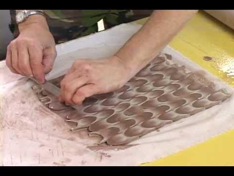 Nerikomi -ドロシーの練り込み マジック Dorothy Feiblemans Nerikomi Magic part 2 - YouTube