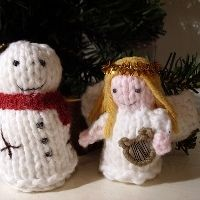 Free angel knitting patterns. How to knit an angel and angel themed knits. Knit a cute angel ornament, knit angel dishcloth, knit angel afghan or knit angel doll. Find lots of great angel patterns and instructions for your next knitting project. Photo(CC) New angel knitting patterns added 15 Jan 2012