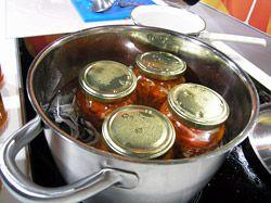 Sterilované kapie nebo papriky