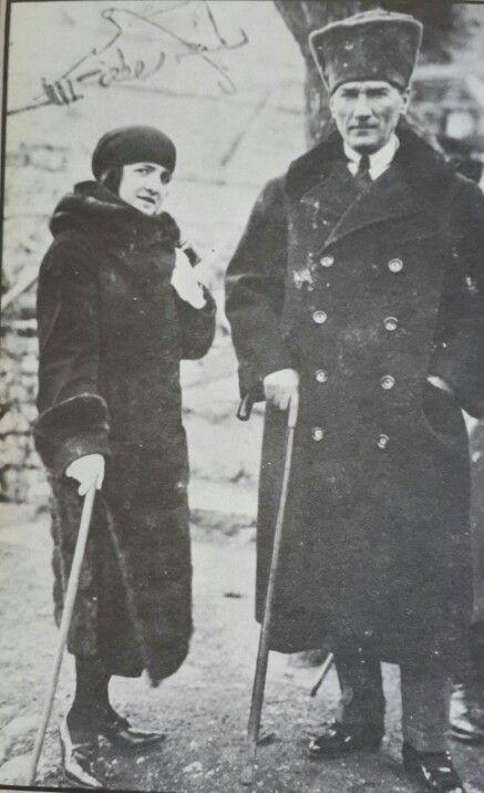 Atatürk&Latife Hanım
