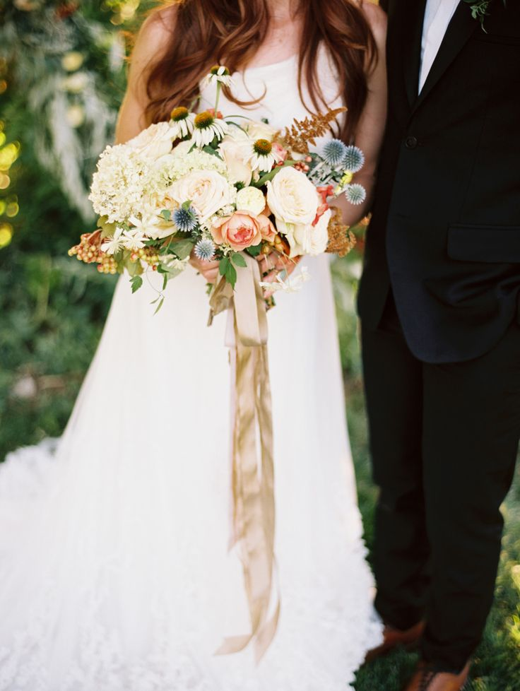 Photography: Leo Patrone - www.leopatronephotography.com  Read More: http://www.stylemepretty.com/2014/12/03/organic-giant-wreath-wedding-inspiration/