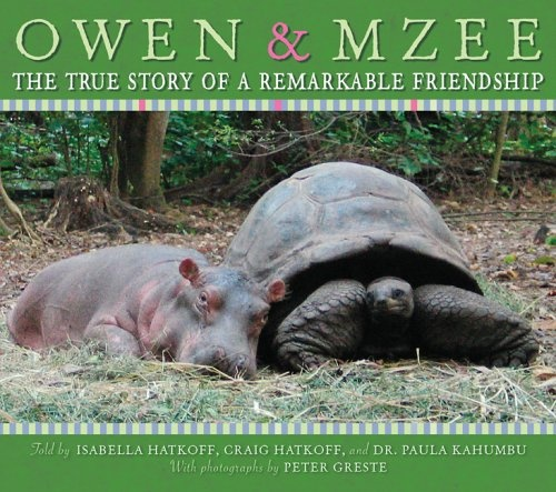 Owen and Mzee  A book about friendship.  I love reading this book to my third grades too.  Great story on friendship.