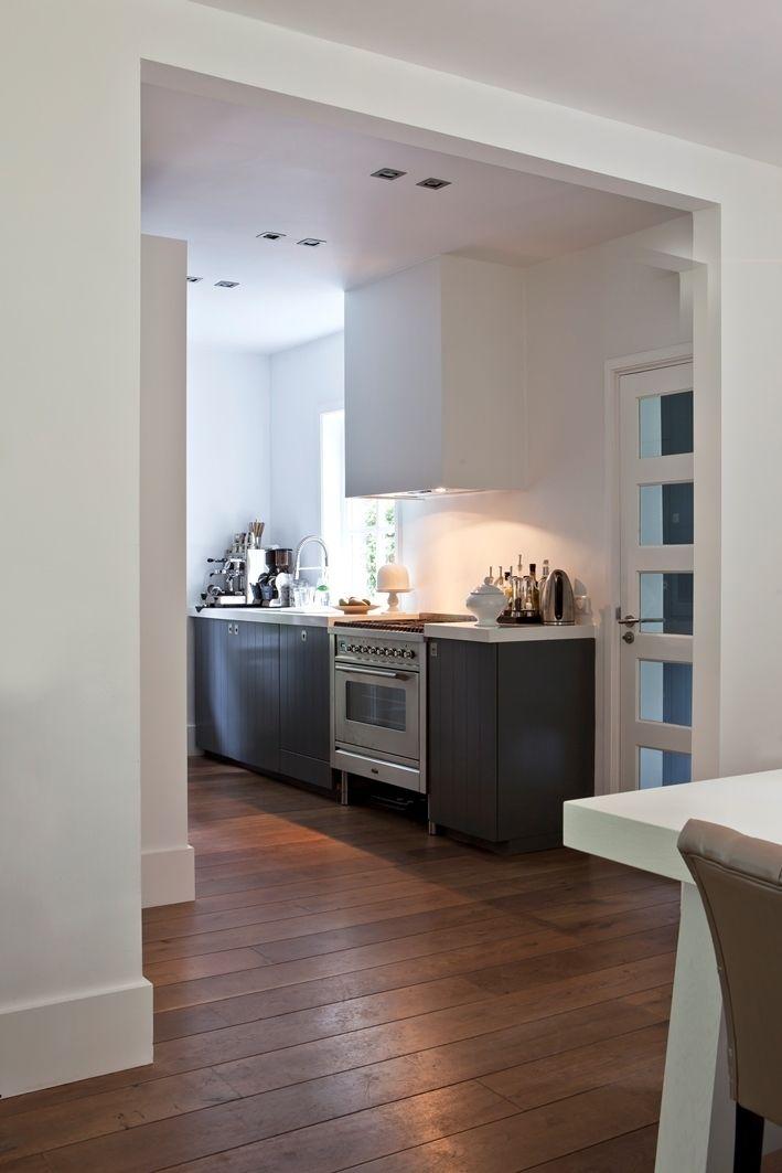 Houten keuken houten vloer for Keuken op houten vloer