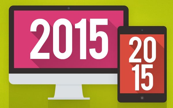 upcoming-graphic design trends 2015 much more simplified from here on out