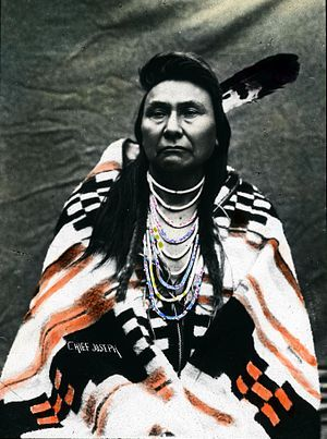 Chief Joseph 1871 - 1904  Nez Perce tribe.