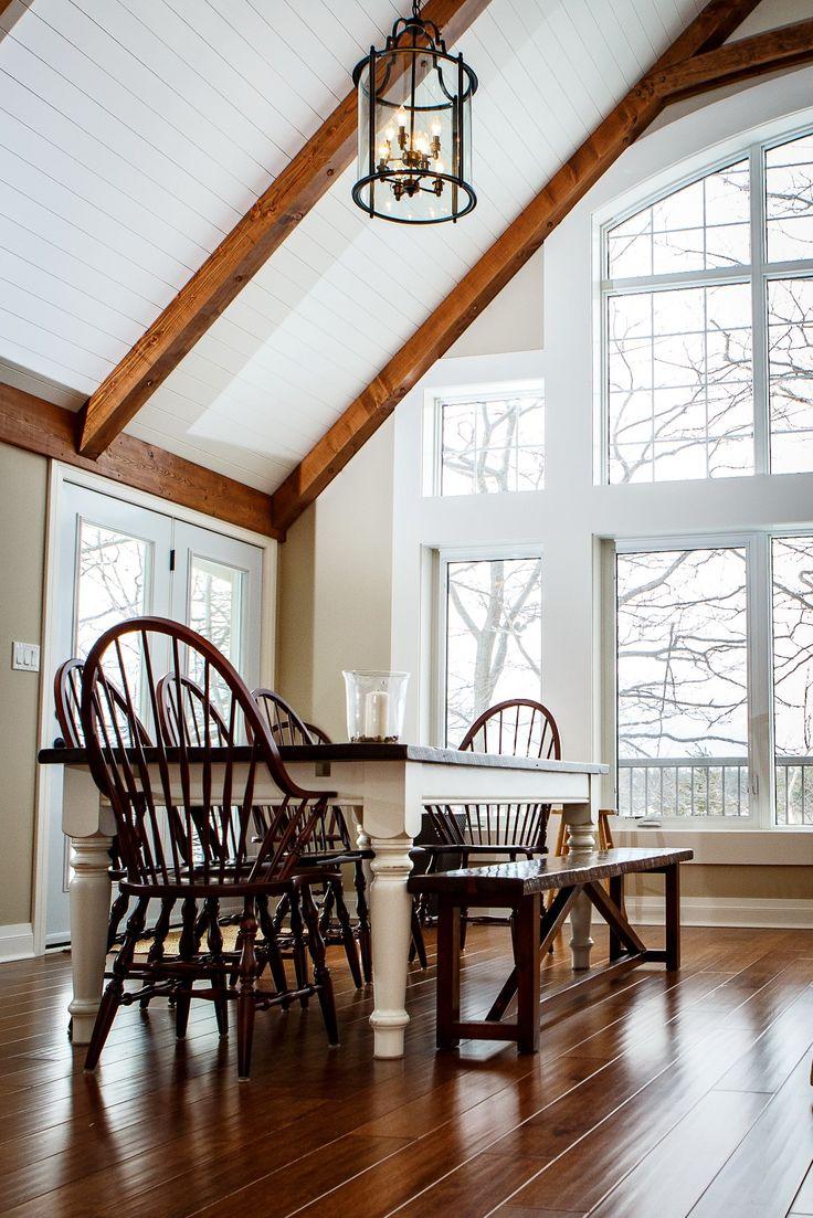 Carling Bay Cottage - Interior Solutions - Dining - Parry Sound/Muskoka - Cedarland Homes - www.cedarlandhomes.ca