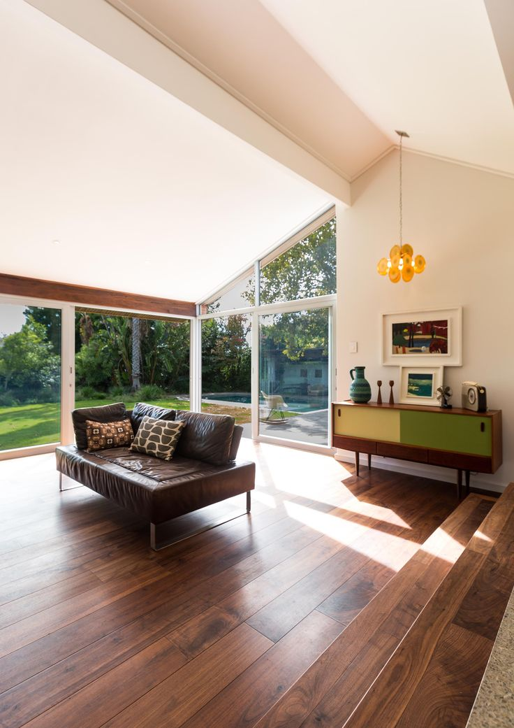 Walnut flooring tends to have a dark appearance, though variation in color can occur. One of the advantages of a darker grained wood is the ability to hide dirt well. As the floor begins to wear or accrue dirt, the floor will still appear characteristically beautiful; it can be cleaned easily as well to prevent the buildup of dirt and grime that can ultimately damage the wood in the long run.