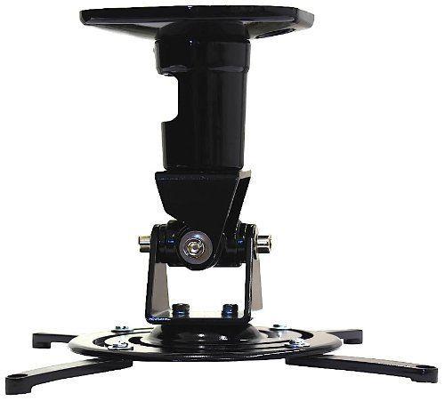 Arrowmounts AM-PRO1B Universal Ceiling Projector Mount, Black
