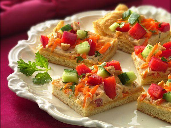 Thai Appetizer Pizza